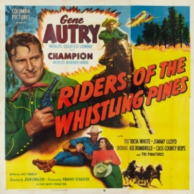 Riders of the Whistling Pines movie poster (1949) poster MOV_2de767a4