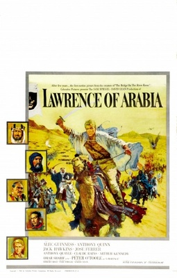 Lawrence of Arabia movie poster (1962) poster MOV_2de9fdb5