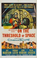 On the Threshold of Space movie poster (1956) picture MOV_2df31ecb