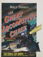 The Great Locomotive Chase movie poster (1956) picture MOV_2e1ac75a