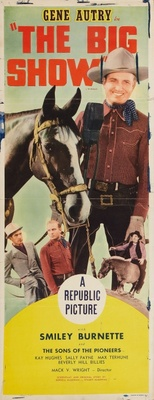 The Big Show movie poster (1936) poster MOV_2e20face