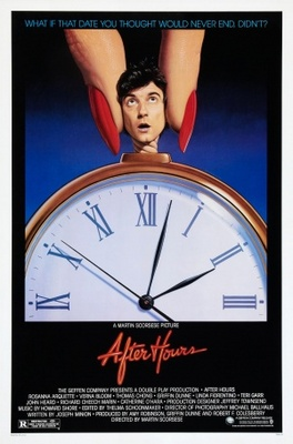 After Hours movie poster (1985) poster MOV_2e3c08f7