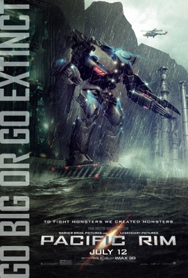 Pacific Rim movie poster (2013) poster MOV_2e85de8b