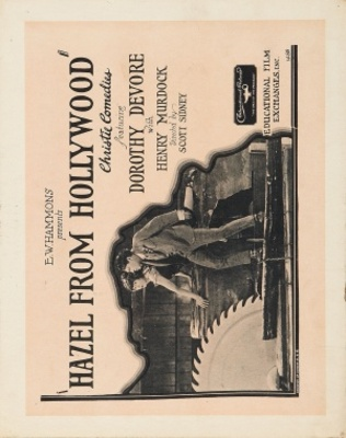Hazel from Hollywood movie poster (1923) poster MOV_2ea84baa