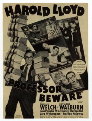 Professor Beware movie poster (1938) poster MOV_2ecf1302
