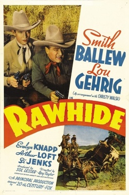 Rawhide movie poster (1938) poster MOV_2ed0110e