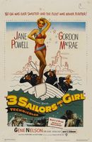 Three Sailors and a Girl movie poster (1953) picture MOV_2ef47c35