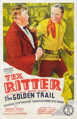 The Golden Trail movie poster (1940) poster MOV_2f15331e