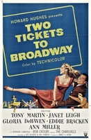 Two Tickets to Broadway movie poster (1951) picture MOV_2f198cad