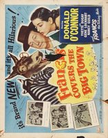 Francis Covers the Big Town movie poster (1953) picture MOV_2f1df03e
