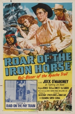 Roar of the Iron Horse, Rail-Blazer of the Apache Trail movie poster (1951) poster MOV_2f1f1830