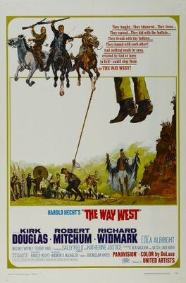 The Way West movie poster (1967) poster MOV_2f436d09