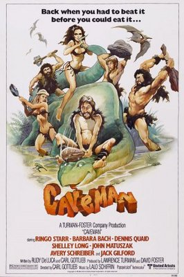 Caveman movie poster (1981) poster MOV_2f62bf53