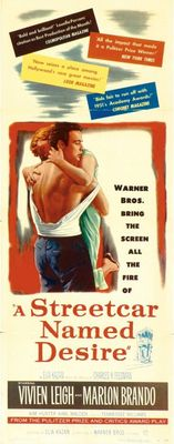 A Streetcar Named Desire movie poster (1951) poster MOV_2f6487d8