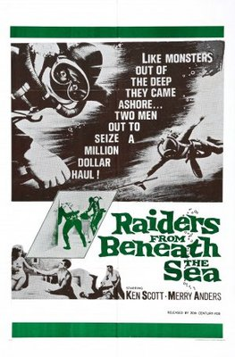 Raiders from Beneath the Sea movie poster (1964) poster MOV_2f6adb52
