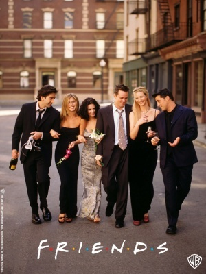 Friends movie poster (1994) poster MOV_2f7e683d