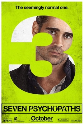 Seven Psychopaths movie poster (2012) poster MOV_2f867e7a