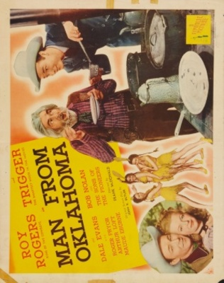 Man from Oklahoma movie poster (1945) poster MOV_2f87fab3