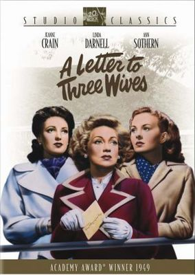 A Letter to Three Wives movie poster (1949) poster MOV_2f90272b