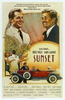 Sunset movie poster (1988) picture MOV_2fa67aad