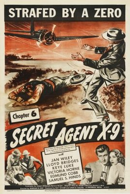 Secret Agent X-9 movie poster (1945) poster MOV_2fc8c3af