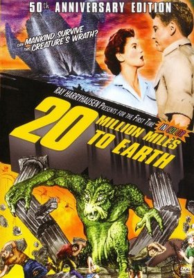 20 Million Miles to Earth movie poster (1957) poster MOV_2fdab5b7