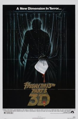 Friday the 13th Part III movie poster (1982) poster MOV_2fdf35ed