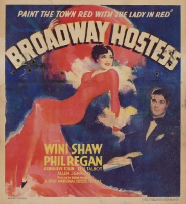 Broadway Hostess movie poster (1935) poster MOV_2fe37302