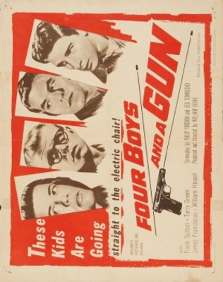 Four Boys and a Gun movie poster (1957) poster MOV_2fe7cd99
