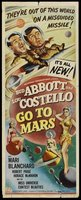 Abbott and Costello Go to Mars movie poster (1953) picture MOV_2ff6a632