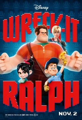 Wreck-It Ralph movie poster (2012) poster MOV_301881e4
