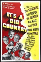 It's a Big Country movie poster (1951) picture MOV_30354e50