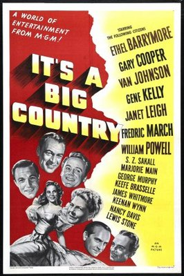 It's a Big Country movie poster (1951) poster MOV_30354e50
