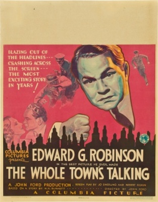 The Whole Town's Talking movie poster (1935) poster MOV_30401a4b