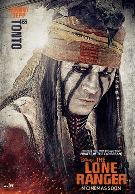 The Lone Ranger movie poster (2013) poster MOV_30450aa8