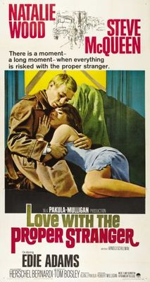 Love with the Proper Stranger movie poster (1963) poster MOV_306f9491