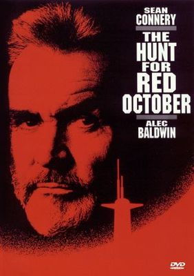 The Hunt for Red October movie poster (1990) poster MOV_3077bbe6