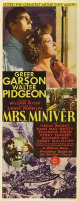 Mrs. Miniver movie poster (1942) poster MOV_3077c803