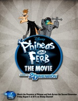 Phineas and Ferb: Across the Second Dimension movie poster (2011) picture MOV_30843bca