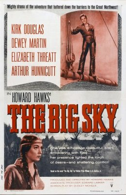 The Big Sky movie poster (1952) poster MOV_308755fb