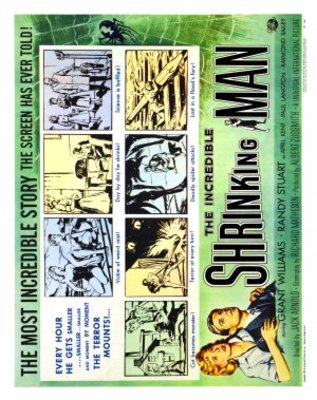 The Incredible Shrinking Man movie poster (1957) poster MOV_30bc983b