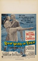 Raw Wind in Eden movie poster (1958) picture MOV_30bf87cd
