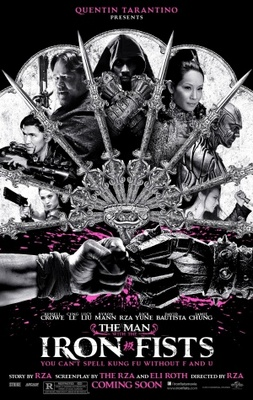 The Man with the Iron Fists movie poster (2012) poster MOV_30cf713e