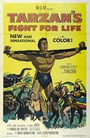 Tarzan's Fight for Life movie poster (1958) picture MOV_30e85d8a