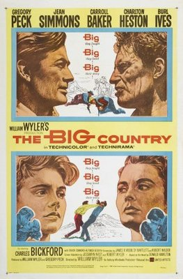 The Big Country movie poster (1958) poster MOV_30ed4434