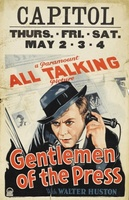 Gentlemen of the Press movie poster (1929) picture MOV_31422af4