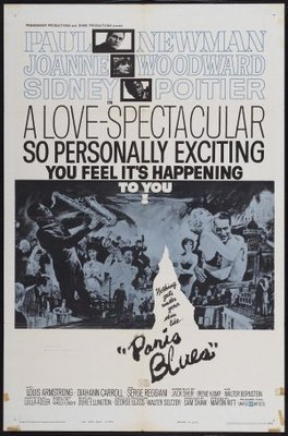Paris Blues movie poster (1961) poster MOV_314a4a9a