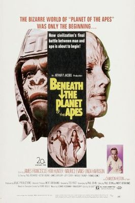 Beneath the Planet of the Apes movie poster (1970) poster MOV_31619723