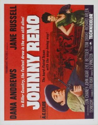 Johnny Reno movie poster (1966) poster MOV_316e1f60