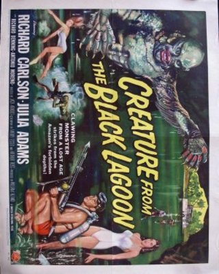 Creature from the Black Lagoon movie poster (1954) poster MOV_3176b080